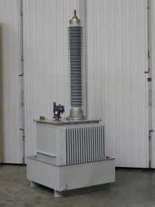 150kV outdoor test transformer
