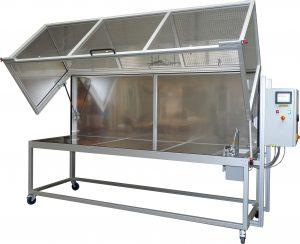 Aluminium profile test cage P-K75-25H-S-Pi-C