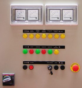 Analogic control electrofilter