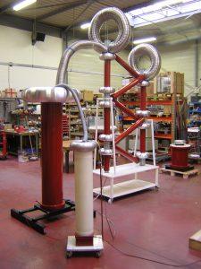 Dielectric tests 300kVDC
