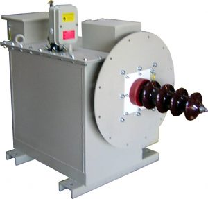 High voltage generator electrostatic filter