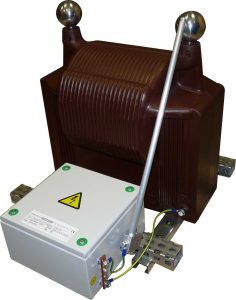 Isolation transformer + grounding relay