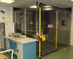 Safety cage guard + polycarbonate panels