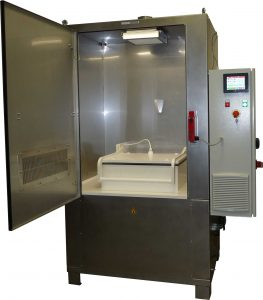 special machine with ozone extractor